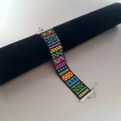 bransoletka tkana na krośnie,na prezent - Bransoletki - Biżuteria